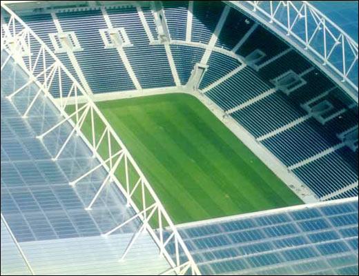 Estadio de Dragao, Porto - one of two stadiums Ballast Nedam built for the UEFA Eoruo 2004 tournament