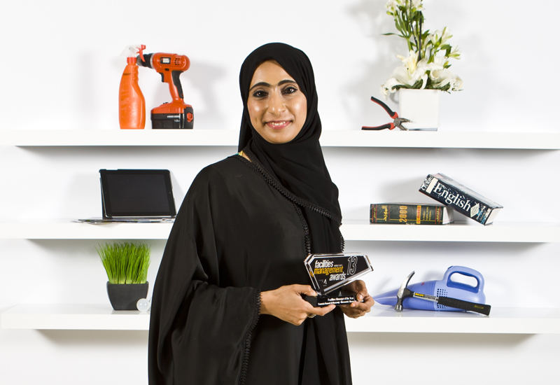 The first female Emirati to win the FM of the Year title.