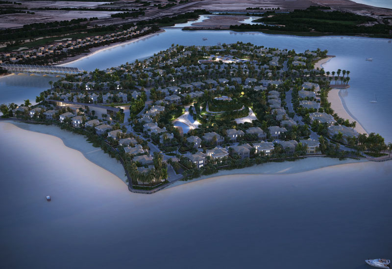 Green for go: Falcon Island is vying to be the first GCC residential project to gain Platinum LEED Certification.
