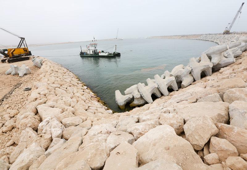 Taqah fishery harbour.
