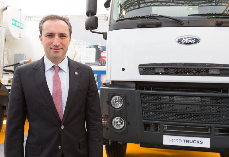 Emrah Duman, director for international market at Ford Trucks.