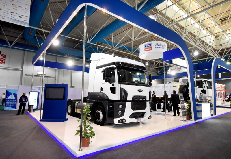 Ford Trucks used Saudi Transtec 2015 to showcase its 4135M and 1843T models, both of which come with the option of the 'Hot Climate Package'.