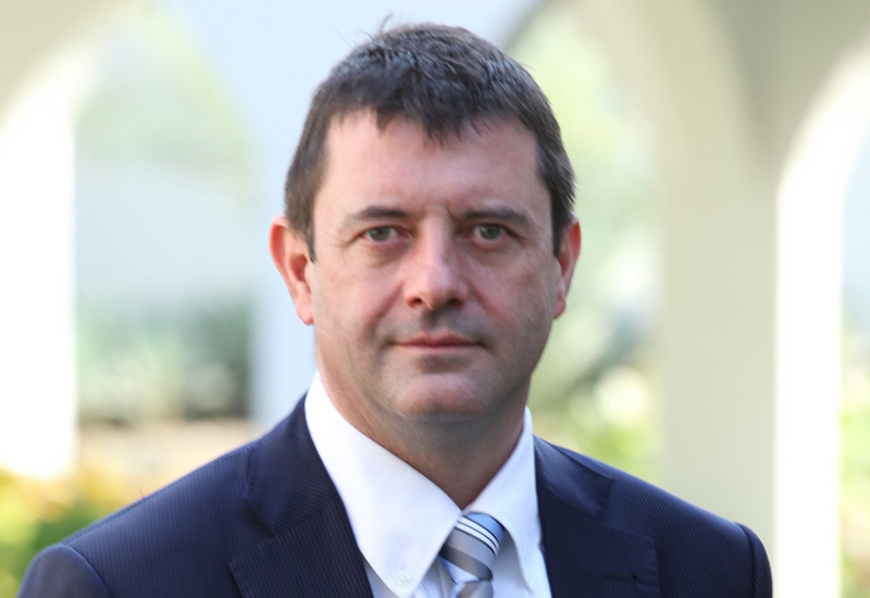 Frank Ackland, general manager for Eaton Middle East.