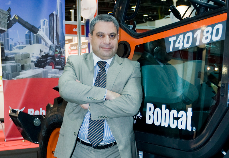 Doosan Infracore's Gaby Rhayem tells PMV Middle East why Bobcat chose INTERMAT Middle East 2014 as a launch pad for its new T40180 telescopic handler.
