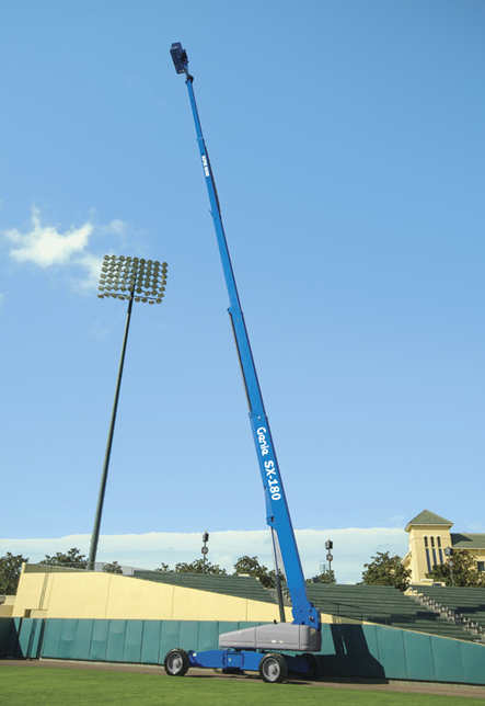 The Genie SX-180 telescopic booms will be the largest in Al Laith's AWP fleet.