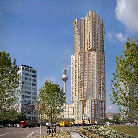 NEWS, Design, Adjaye Associates, Berlin, David Chipperfield Architects, Frank Gehry, Hines, Skyscraper
