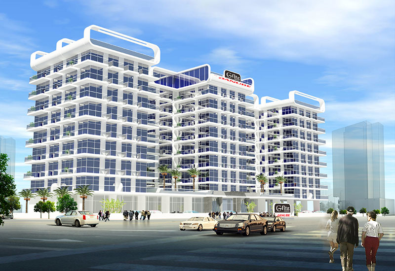 Danube Properties reported that its 300-unit Glitz project sold out in two hours