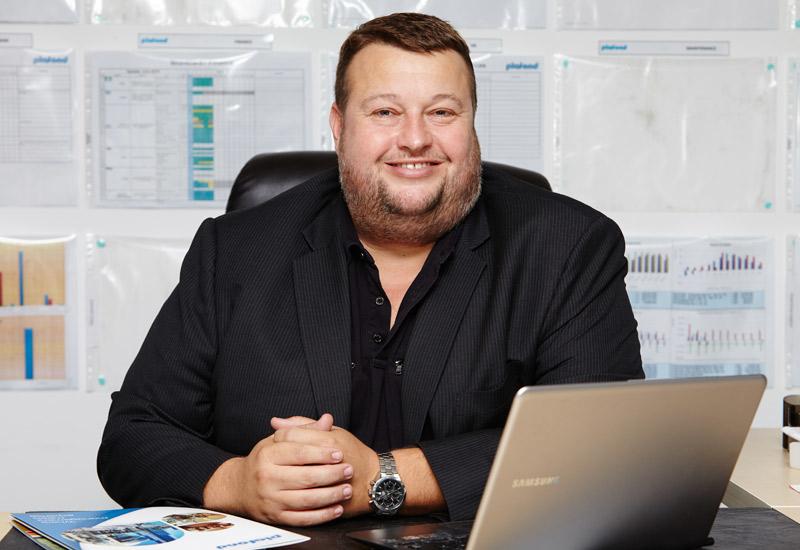 Greg Ward, CEO of Plafond.