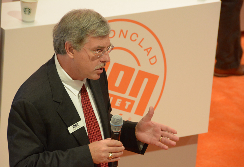 IronPlanet CEO and chairman Greg Owens speaking at CONEXPO-CON/AGG 2014.