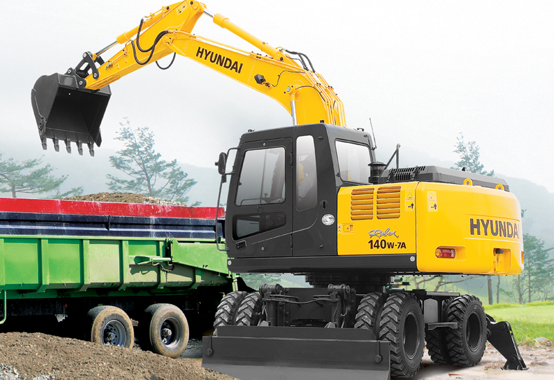 HHI Group donates $200,000 of aid, an excavator and a backhoe loader to those affected by Typhoon Haiyan.