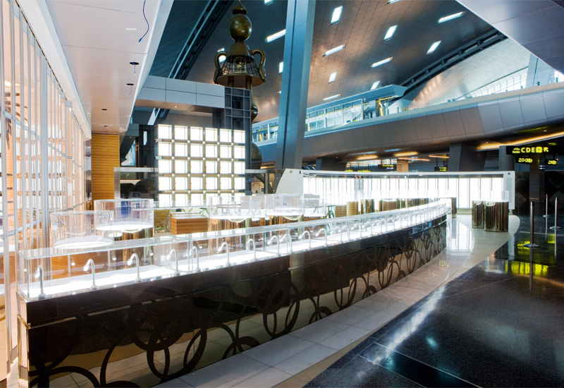 The new airport has a huge range of F&B locations, although only a few are open at the moment.