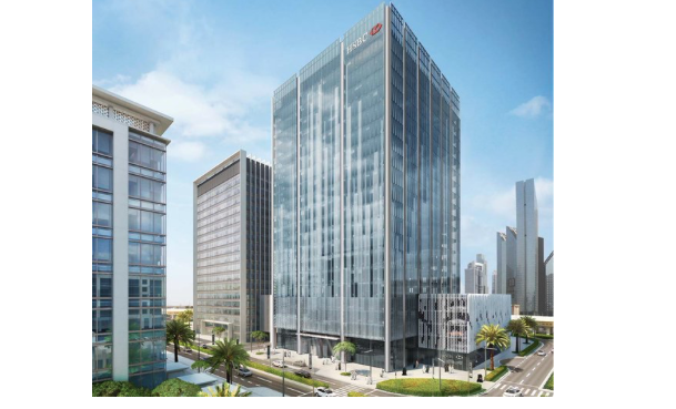 HSBC's $25m Middle East headquarters will be set in Downtown Dubai. [Image: Twitter/Dubai Media Office]