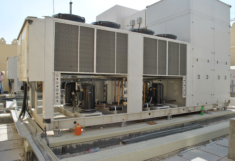 The core of the substation's MEP system is the HVAC system.
