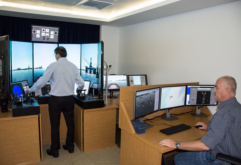 Halul's offshore support vessel (OSV) ship-handling simulator is the first of its kind in Qatar.