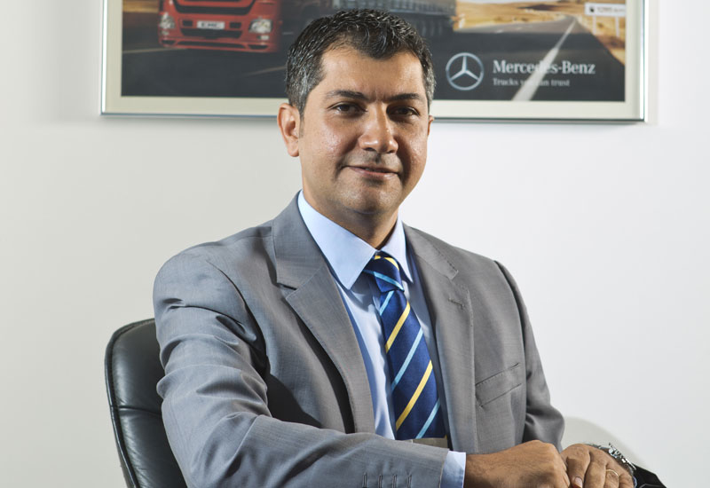 Hany Tawfik  is service manager for commercial vehicles at Emirates Motor Company, the authorised Mercedes-Benz dealer in the Emirate of Abu Dhabi.