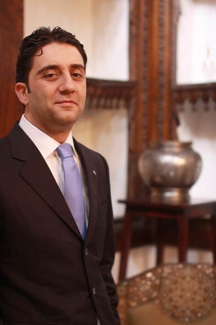 Hawazen Esber, new CEO of The Wave, Muscat