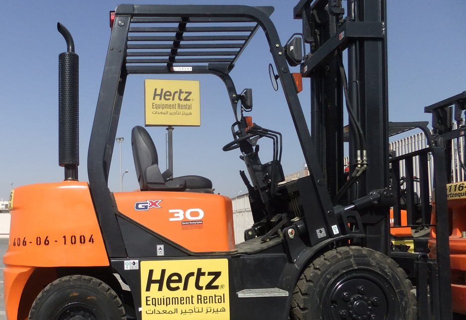 NEWS, PMV, Equipment, Equipment rental, Expansion, Hertz, Hertz corporation, Rental