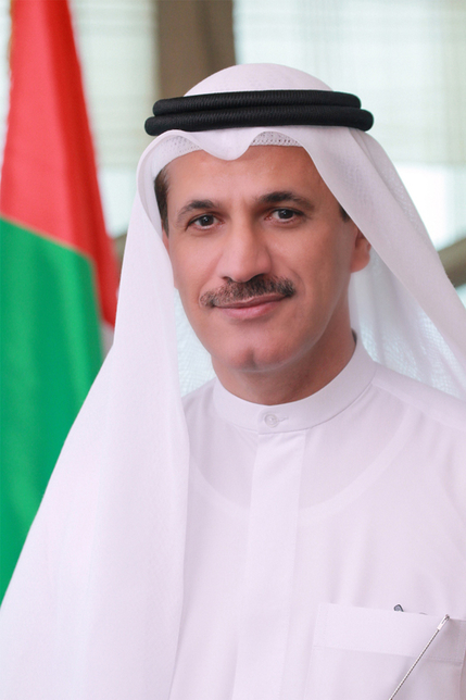 His Excellency Sultan Saeed Al Mansouri.