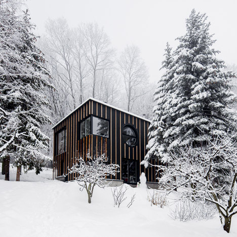NEWS, Projects, Architects, Budapest, Prefabricated, Timber, Wooden cabin