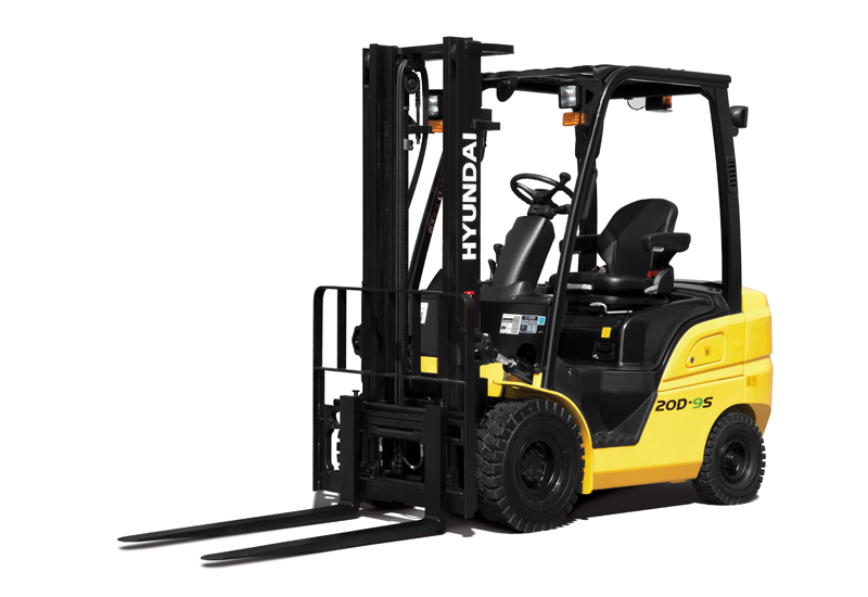 HHI has unveiled 12 forklifts from its 9-Series range.