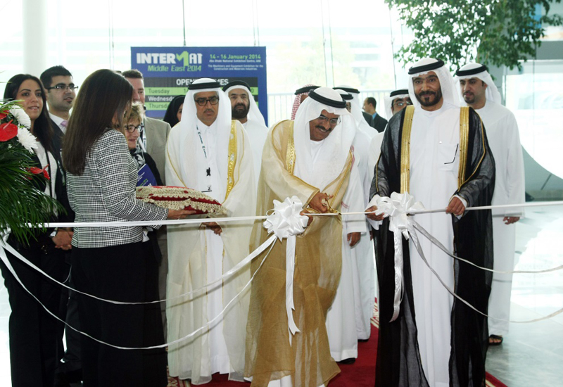 NEWS, PMV, Intermat, Intermat Middle East 2014, Opening, Trade show