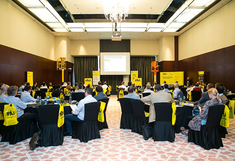An array of stakeholders, including manufacturers, rental firms, and end users, attended IPAF Middle East's convention.