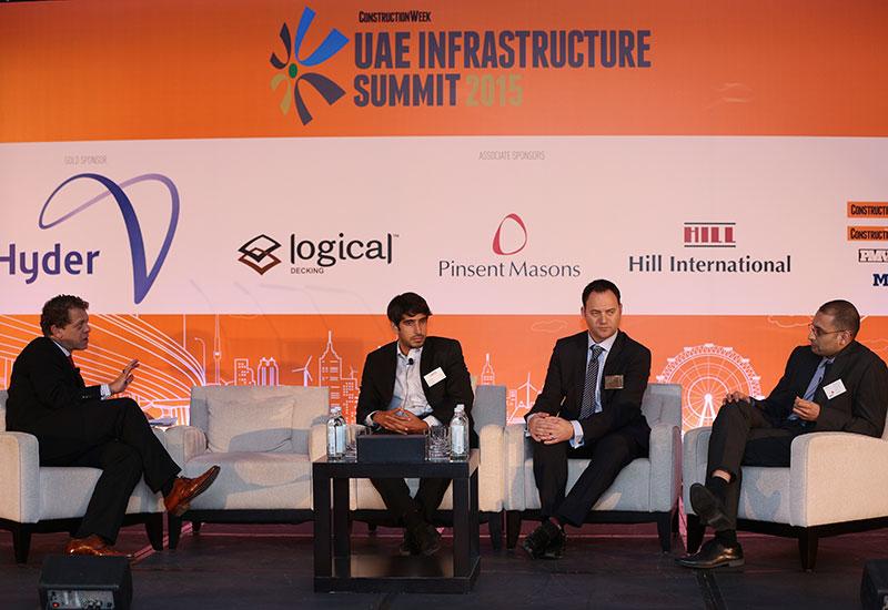 L-R: Wael Allan, Saeed Al Abbar, Nathan Cartwright, Jehan Panthaki.