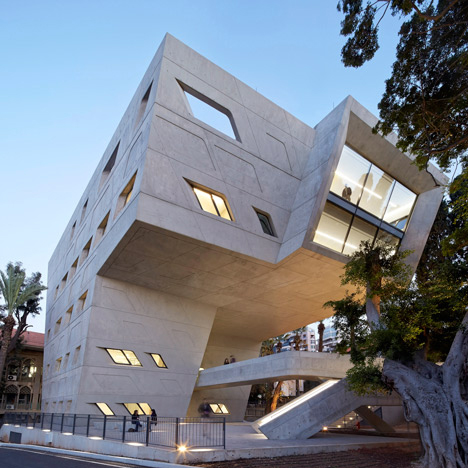 NEWS, Design, American University of Beirut, Issam Fares Institute for Public Policy and Intern, Zaha Hadid Architects