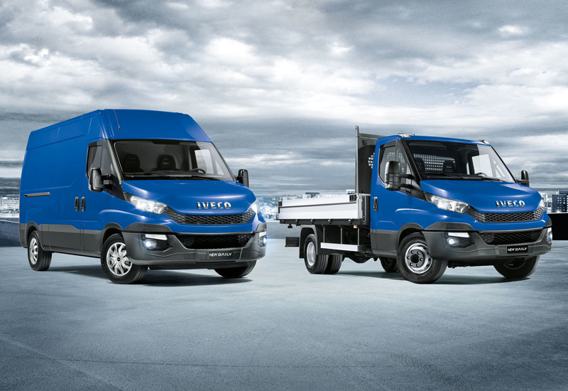 The New Daily in both its panel van and chassis cab iterations.