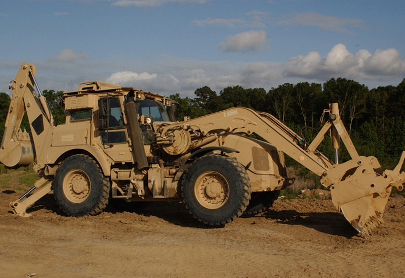 The JCB HMEE-1 boasts a top speed of almost 100km/h.