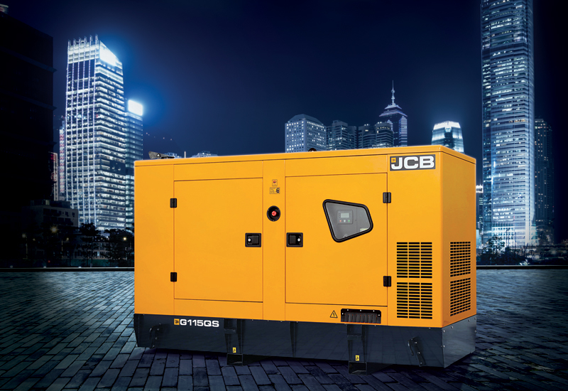 JCB's QS generator range has been designed to cope with the Middle East's high temperatures, choking dust, and poor fuel quality.