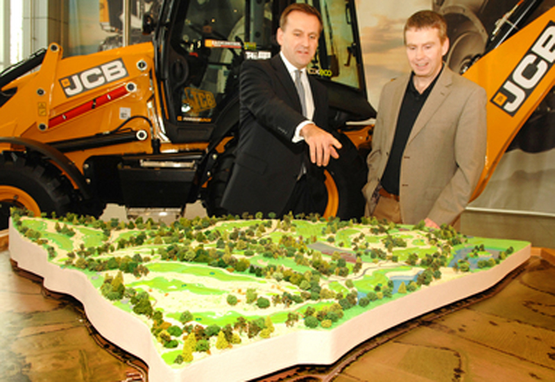 NEWS, PMV, Construction, Construction equipment, Golf, Golf course, JCB, Planning, Rocester