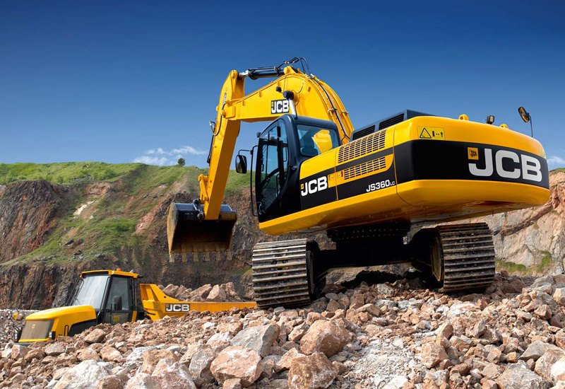The new engines will first be used in the JS360 excavators.