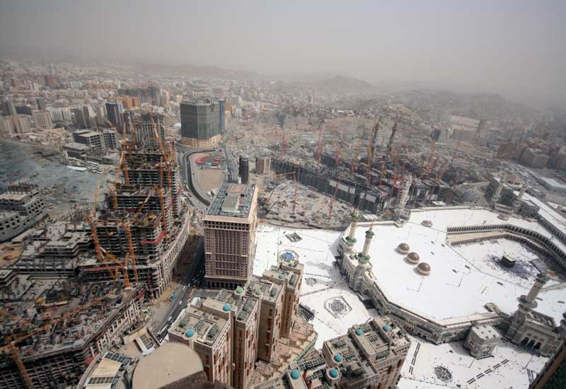 Hill International is managing the Jabal Omar Development Project in Makkah, Saudi Arabia