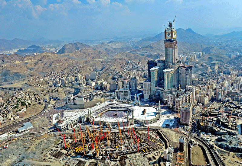 The Jabal Omar development in Makkah is one of the largest construction projects in the country.
