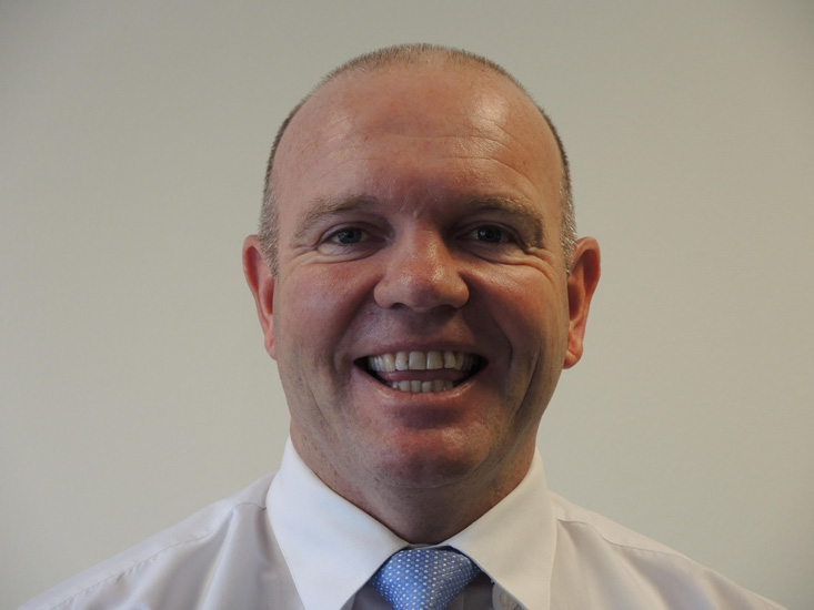 Stephen Traynor, newly appointed divisional manager Middle East, Africa, India.