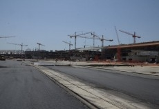 Construction works at the King Abdulaziz International Airport