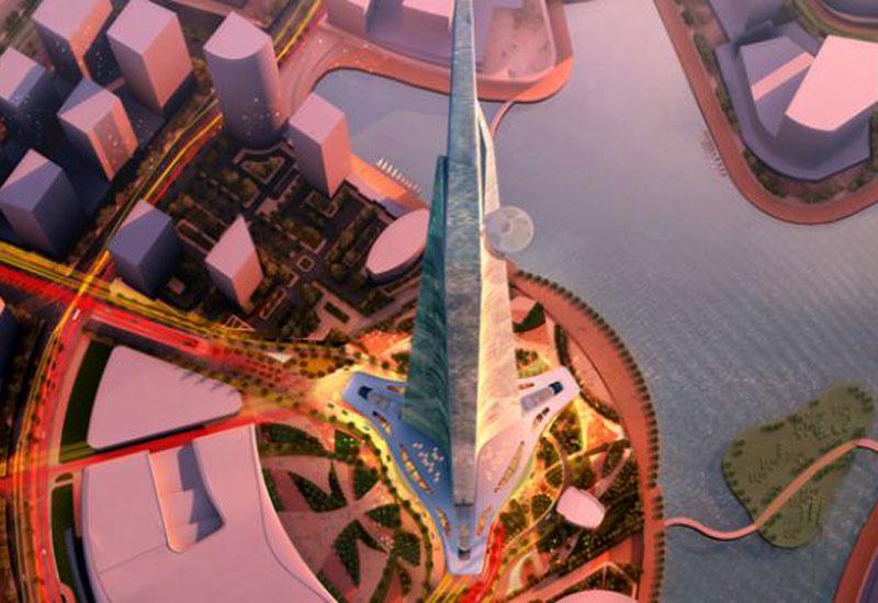 NEWS, Projects, Alinma Bank, BNP Paribas (BNP) SA, Funding, Jeddah Economic Co, Kingdom tower, Tallest tower