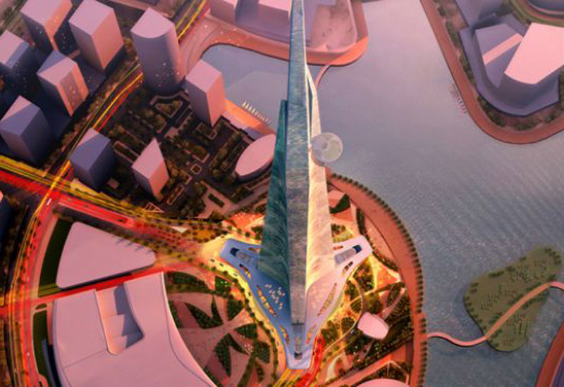 Kingdom Tower in Jeddah is set to become the world's tallest building at over 1,000m-high.