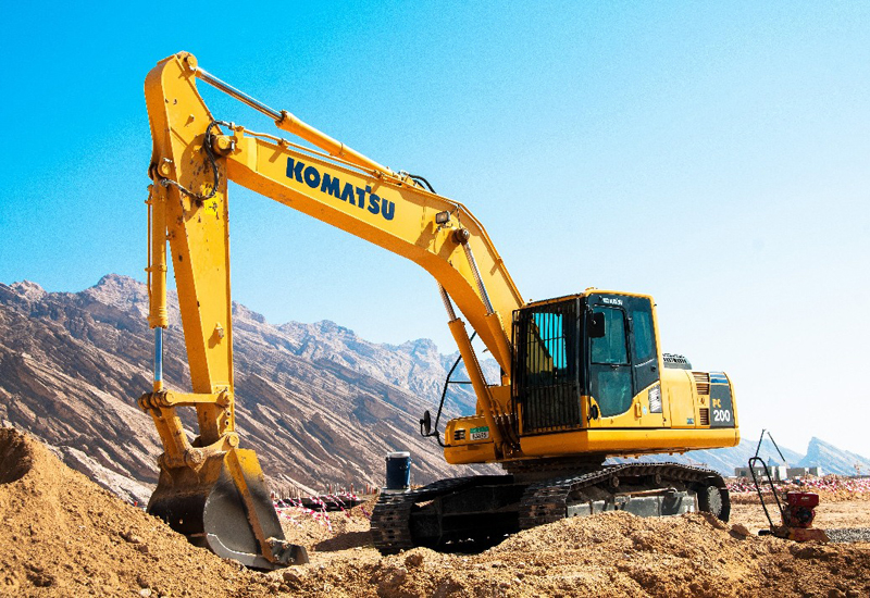 GTHE is Komatsu's authorised distributor in the UAE.