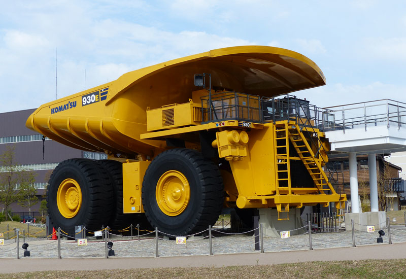 The Komatsu 930E is the best selling ultra-class haul truck in the world.