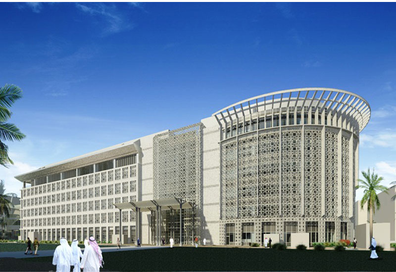 The new college of social science being built at Kuwait University by Shapoorji Pallonji