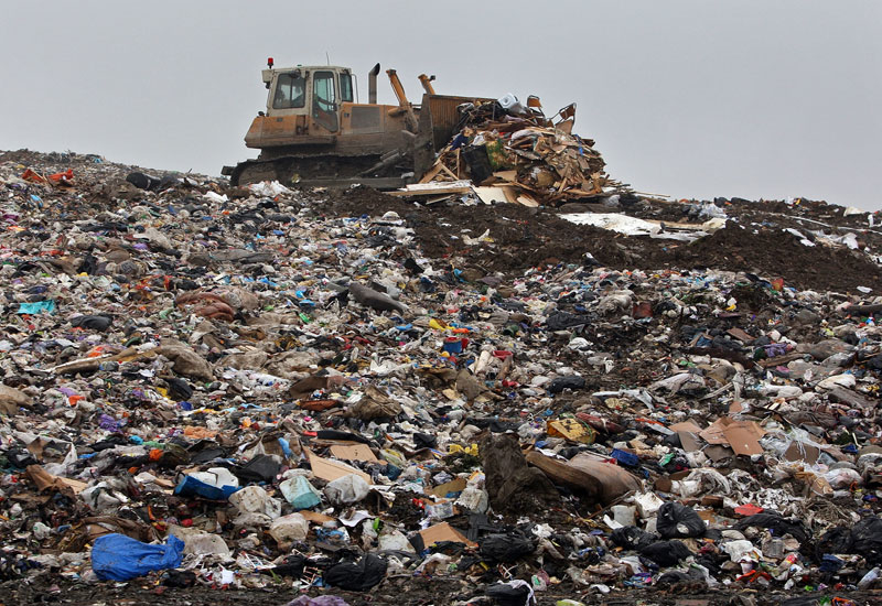 Dubai waste doubled between 2008 and 2011.