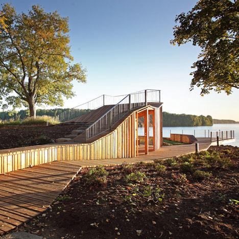 NEWS, Design, Didzis Jaunzems Architecture, Observation platform, Pavilion