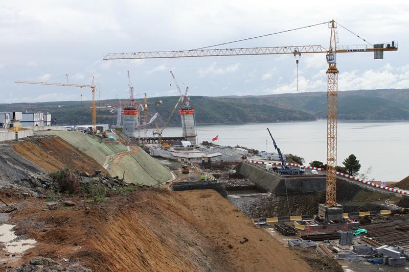 NEWS, PMV, Atilla Dural Mumessillik Insaat Turizm Tic Ltd, Endem Construction, Liebherr, Road, T-Engineering, Third Bosphorus Bridge
