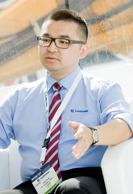 LiuGong's Yue Yong tells PMV Middle East why increased brand awareness is so important to his company's global strategy.