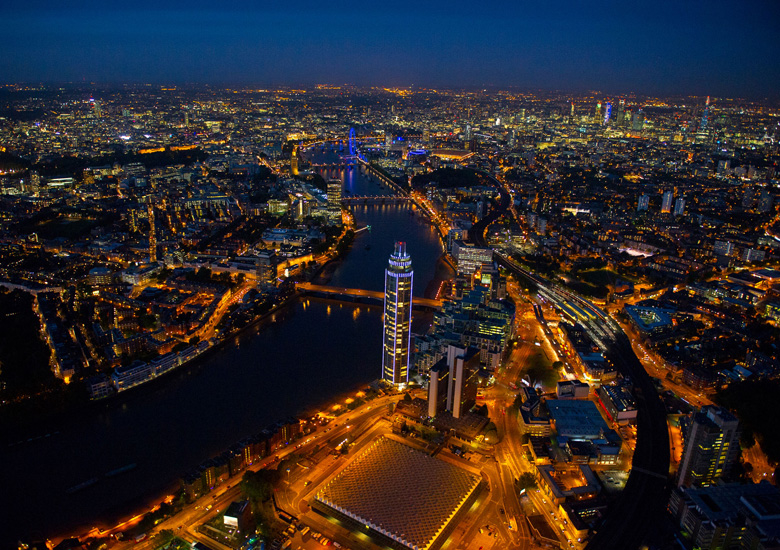 NEWS, Projects, Apartments, London, One St George Wharf, River Thames, The Shard, The Tower