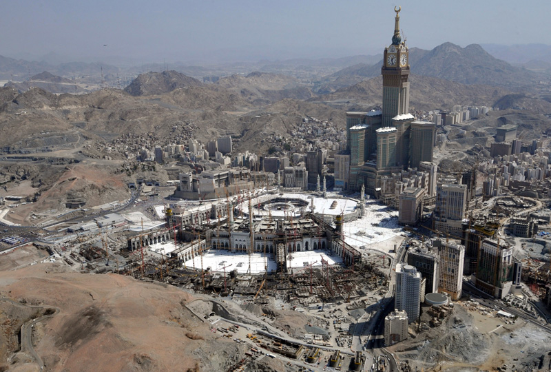 LNG cooking fuel will be banned during Hajj at Saudi's Holy Sites.