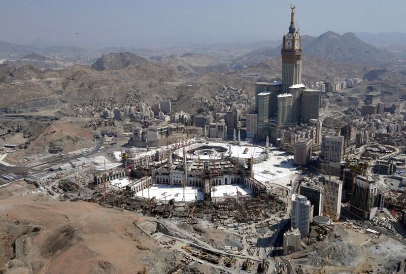 MRDA has an extensive Hajj plan in place for Makkah.