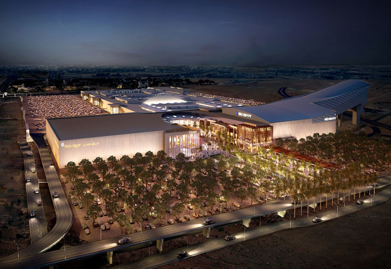 Mall of Egypt in Cairo is set to be completed in 2015.